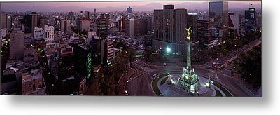 Victory Column In A City, Independence Metal Print by Panoramic Images