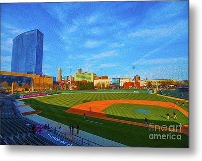 Victory Field 1 Metal Print by David Haskett