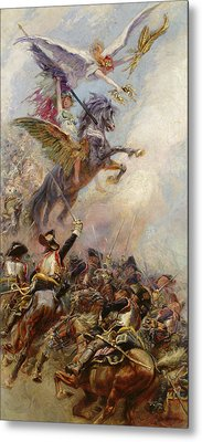 Victory Metal Print by Jean-Baptiste Edouard Detaille
