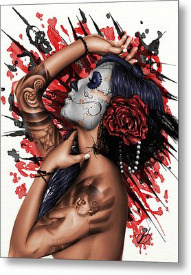 Vidas Angel Metal Print
