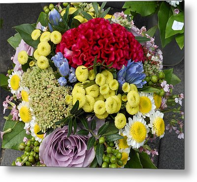 Metal Print featuring the photograph Vienna Bouquet by Kay Gilley