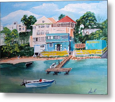 Vieques Puerto Rico Metal Print by Luis F Rodriguez