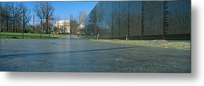 Vietnam Veterans Memorial, Washington Dc Metal Print by Panoramic Images
