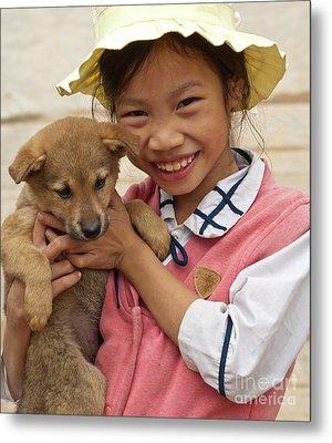 Vietnamese Girl 02 Metal Print by Rick Piper Photography