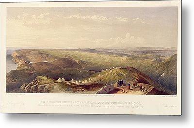 View Above Balaklava Metal Print by British Library