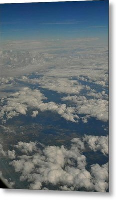 View From Above Metal Print by Brynn Ditsche