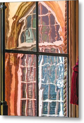 View From Another Window Metal Print by Carolyn Marshall