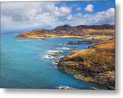 View From Ardnamurchan Metal Print by David Hare