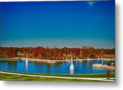View From Art Hill Forest Park Missouri Metal Print