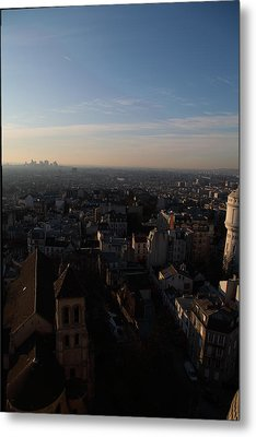 View From Basilica Of The Sacred Heart Of Paris - Sacre Coeur - Paris France - 011319 Metal Print by DC Photographer