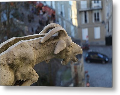 View From Basilica Of The Sacred Heart Of Paris - Sacre Coeur - Paris France - 01133 Metal Print by DC Photographer