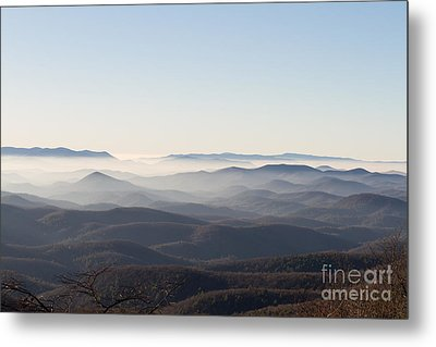 View From Blood Mountain Metal Print