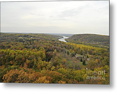 View From Bowman's Tower North Metal Print by Addie Hocynec