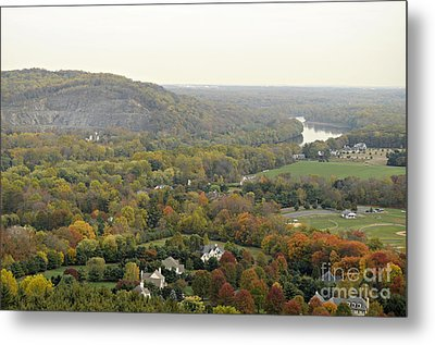 View From Bowman's Tower South Metal Print by Addie Hocynec