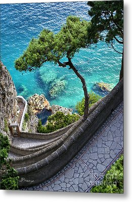 View From Capri.italy Metal Print by Jennie Breeze