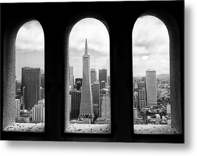 View From Coit Tower Metal Print by Celso Diniz