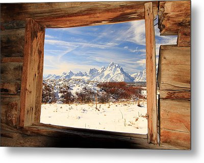 View From Cunningham Cabin Metal Print