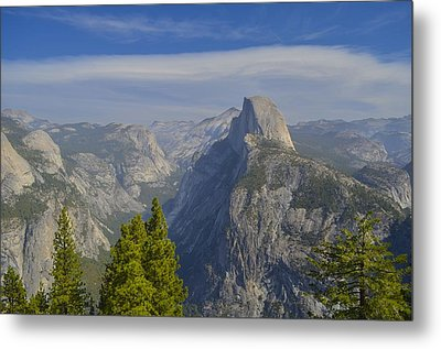View From Glacier Point Yosemite Metal Print