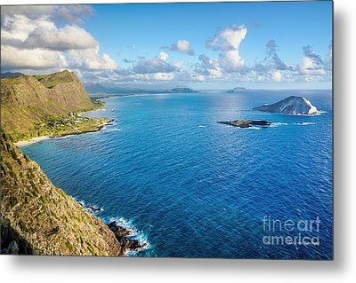 Metal Print featuring the photograph View From Makapuu Point by Aloha Art