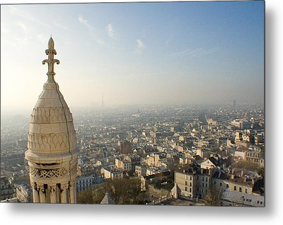 Metal Print featuring the photograph View From Montmartre by Jon Emery