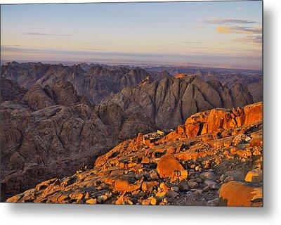 View From Mount Sinai Metal Print by Ivan Slosar