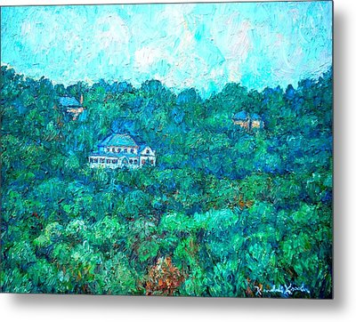 View From Rec Center Metal Print by Kendall Kessler