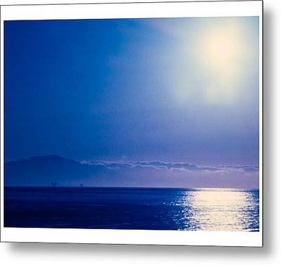 Metal Print featuring the photograph View From Santa Barbara by Robert Culver