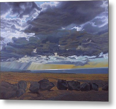 View From Spencer Metal Print by Thu Nguyen