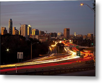 View From Sunnyvale Metal Print by Mark Weaver