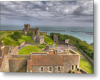 View From The Great Tower Metal Print by Tim Stanley