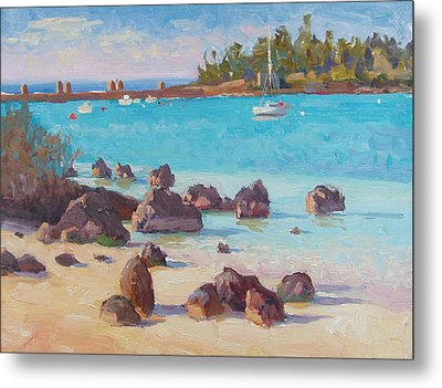 View From The Grotto Metal Print by Dianne Panarelli Miller