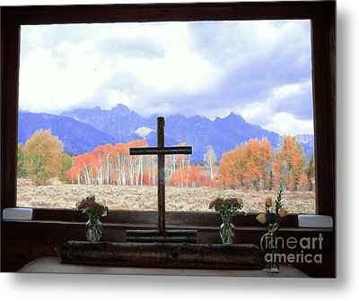 View From The Inside Metal Print by Kathleen Struckle
