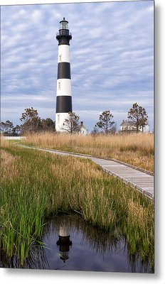 View From The Marsh Metal Print