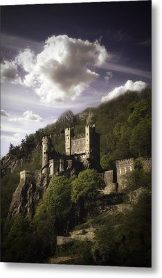 View From The Rhine River Metal Print by James Bethanis
