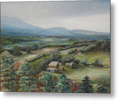 View From The Taconic Metal Print
