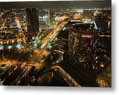 View From Top Of The Hyatt Metal Print
