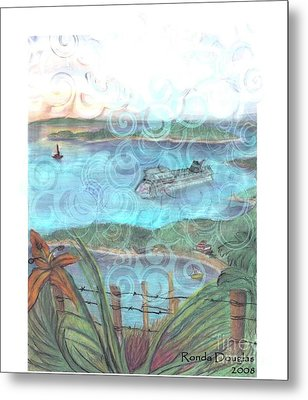 View From Tourtuga Metal Print
