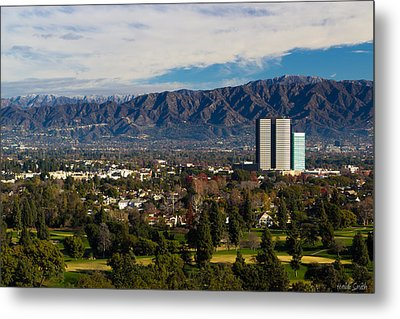 View From Universal Studios Hollywood Metal Print by Heidi Smith