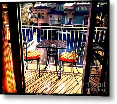 Metal Print featuring the photograph View by Leslie Hunziker