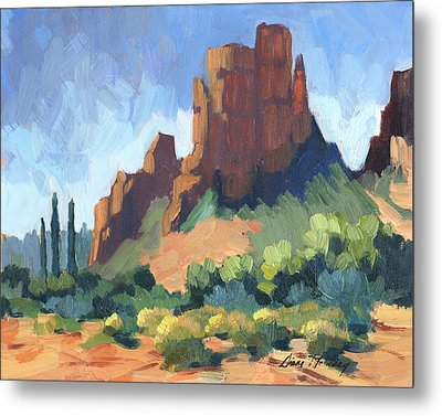 View Of Cathedral Rock Sedona Metal Print