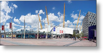 View Of Concert Hall, The O2 Metal Print by Panoramic Images