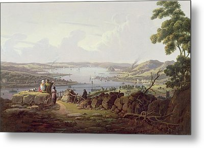 View Of Greenock, Scotland Metal Print by Robert Salmon