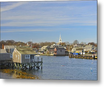View Of Nantucket From The Harbor Metal Print