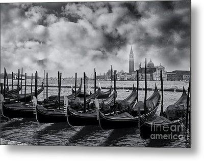 View Of San Giorgio Maggiore Venice Metal Print by Design Remix