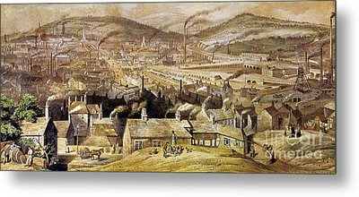 View Of Sheffield England Metal Print by Granger