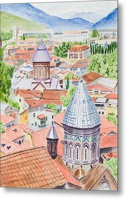 View Of Tbilisi-republic Of Georgia Metal Print