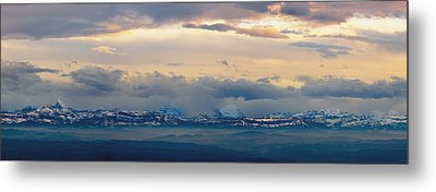 View Of The Alpsjura Switzerland Metal Print by Yves Marcoux