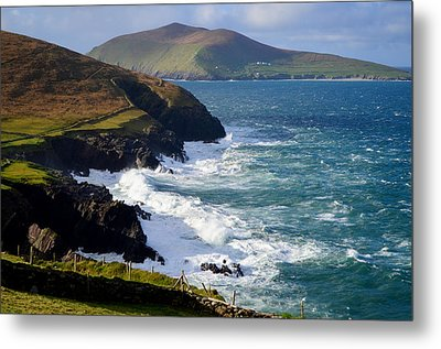 View Of The Blasket Island Metal Print by Barbara Walsh