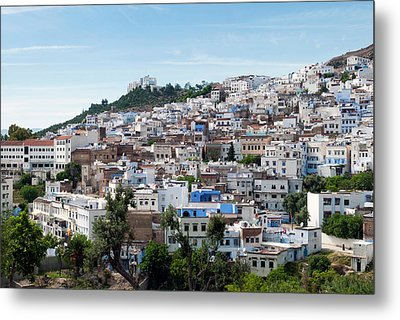 View Of The City, Chefchaouen (chaouen Metal Print by Nico Tondini