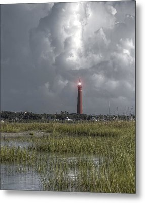 View Of The Lighthouse  Metal Print